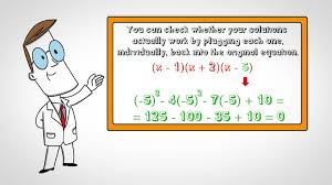 How To Factor A Cubic Tutorial Factoring Cubic Polynomials Pictures How To Wiki