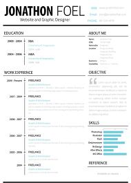 Creative Design Resume Templates For Mac Free Mac Resume Templates