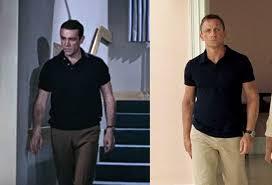 James Bond Comparison Chart 00 7 Secrets Of James Bonds Timeless Style James Bond