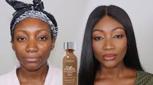 L Oreal True Match Shade Chart Loreal True Match Foundation Demo Review Giveaway