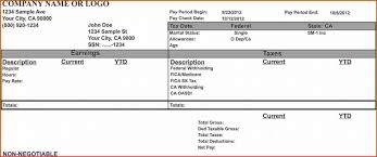 paycheck stub creator free pay stub template with calculator checks template free paystub
