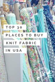 Designer Knit Fabric By The Yard Top 30 Places To Buy Knit Fabric In The Us
