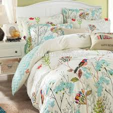 double comforter sets duvet cover set without past bird printing bedding 10