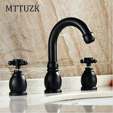 oil rubbed bronze waterfall bathroom sink faucet faucets vessel dolphin two