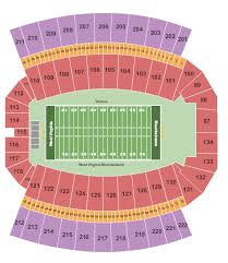 Mountaineer Field Seating Chart Morgantown
