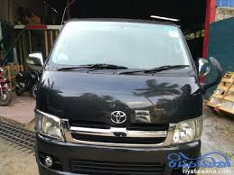 Toyota Kdh 200 Super Gl Used 2006 Diesel Negotiable Sri Lanka