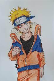 I drew Naruto A4 sign pen and colour pencil | Anime character drawing,  Character drawing, Anime character