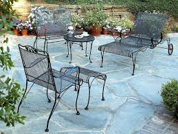 wrought iron patio table magnificent ideas to fix furniture the image of sets black round