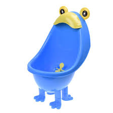 baby boys urinal potty traing stand vertical urinal groove with funny aiming target blue