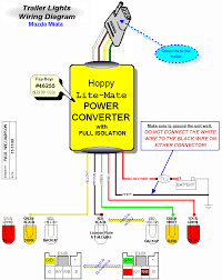 trailer wiring diagram trailer tail light wiring diagram the 6 how to wire trailer lights to truck at Most Common Trailer Wiring Harness