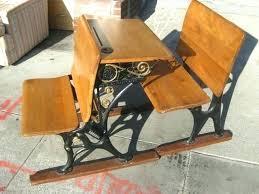 old school desk value antique school desk value elementary school desk dimensions