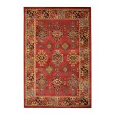 heriz aztec terracotta rug