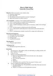 005 Lesson Plan Examples Elementary Regular Objectives