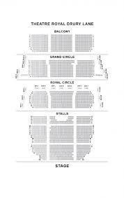 Theatre Royal Drury Lane Seating Chart Theatre Royal Drury Lane Layout