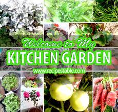 My Kitchen Garden Welcome To My Kitchen Garden Recipestable