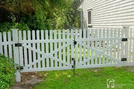 picket fence double gate. Modren Picket Double Picket Gate Google Search Pool Ideas Pinterest Fences Inside Fence  Gates Decorations 7 In D