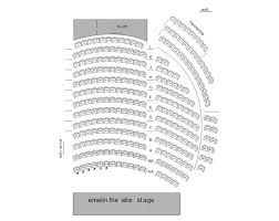 Carnegie Hall Perelman Stage Seating Chart Seating Chart Emelin Theatre