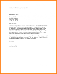 Medical Resume Cover Letter Receptionist Example Sales Sample