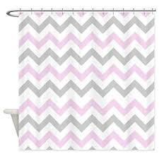 grey chevron shower curtains. CafePress - Pink And Grey Chevron Shower Curtain Decorative Fabric  (69\u0026quot; Grey Chevron Shower Curtains G