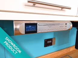 Kitchen Stereo Under Cabinet Highline Ur2170si Under Cabinet Fm Dab Cd Player Kitchen Radio