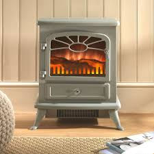 stove electric fire. focal point es 2000 grey electric stove fire r