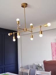 chandelier light fixture diy brass chandelier round bulbs velvettoolbox photos