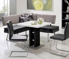 leather breakfast nook furniture. Kitchen Nook Table And Chairs Corinna White Black Leather Dining Set Booth Breakfast Popular Design Ideas Furniture T