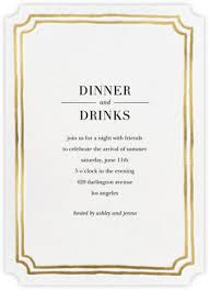 Invitations To Dinner 6 Dinner Party Invitation Templates Free