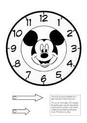 Clock Print Out The Best Worksheets Image Collection | Download And ...