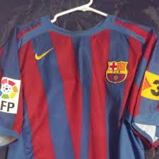 Ronaldinho Barcelona Jersey