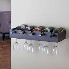 groovy wine racks with glass storage designs for you simple wooden wall mounted