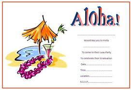 invitation for a party luau party invitations