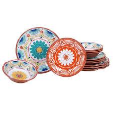 Melamine Dinnerware Designs Fancy Melamine Dinnerware Vegasveg Org