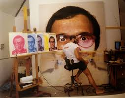 chuck close painting mark 1978 79 108 x 84 inches or 9 x 7 feet from chuck close work page 86