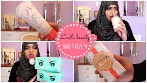 zoella beauty haul and review