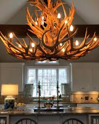 kitchenlighting who would ve thought when we scoured the upper midwest and colorado custom antler chandeliers
