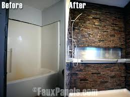 interior faux stone wall panels stupendous decorating ideas rock