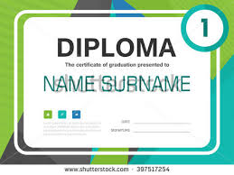 blue green black a diploma certificate stock vector  blue green black a4 diploma certificate background template layout design