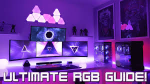 Gaming Led Wall Lights Building The Ultimate Gaming Setup With Rgb Lighting Guide