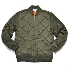 huf BARON QUILTED FLIGHT JACKET olive bei KICKZ.com & huf BARON QUILTED FLIGHT JACKET Adamdwight.com