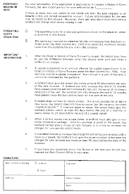 Notice Of Rent Increase Form O Reg 415 92 Forms