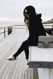 gucci shoes black and white. all black with floral sneakers and gucci purse shoes white \