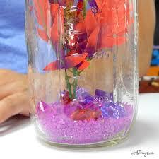 betta fish mason jar tank diy he dumps purple rocks into a mason jar when i see what puts in