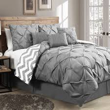 the ella 7 piece reversible comforter set will work in any bedroom with its natural and