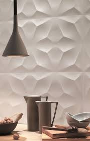 stick wall tiles quotxquot: d wall design by atlasconcorde sculptural ceramic wall tiles d diamond