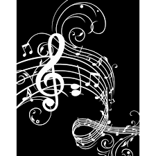 Music Paper Print Music Notes Paper Print