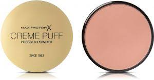 Max Factor Creme Puff Colour Chart Max Factor Creme Puff Pressed Compact Powder 59 Gay Whisper 21 G