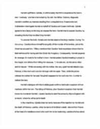 hamlet essays on madness custom hamlet essays is custom writing  hamlet comp essay character motivation of hamlet throughout image of page 2