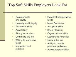 skills job. job searching 101 skills employers look ...