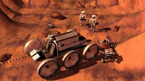astronomy for kids com men on mars